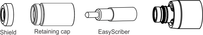 EasyScriber installs in place of consumable items
